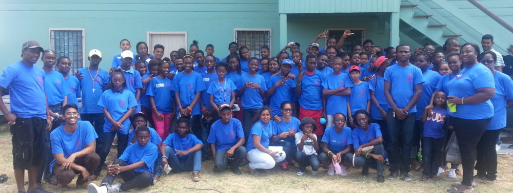 Final day of Science Camp at St. Francis Community Developer's site