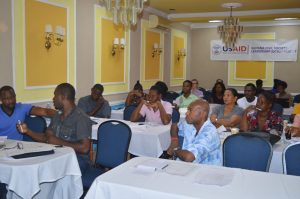 Business Strategy workshop participants