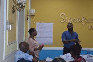 Joseph DeJonge facilitates workshop